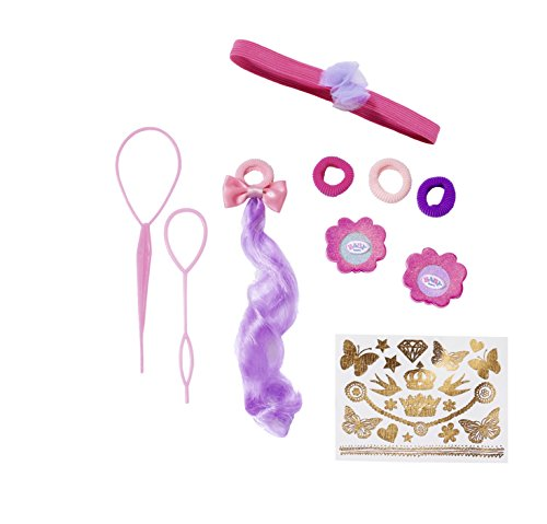 BABY Born 825396 Sister Styling Head Accessories, bunt