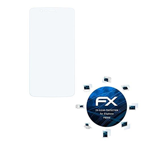 atFolix Schutzfolie kompatibel mit Elephone P8000 Folie, ultraklare FX Bildschirmschutzfolie (3X)