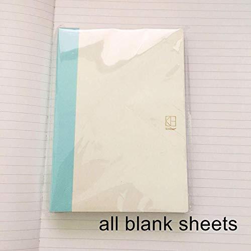 Algemene A6 tijdschriftenbladen 128P stippen/gevoerde pagina's 10,5 * 15cm pak voor normaal tijdschrift DIY Notebook all blank