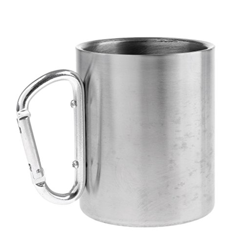 CUTICATE Stainless Steel Double Walled Mug