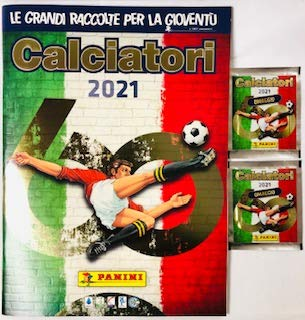 Album + 2 BUSTINE di Figurine CALCIATORI 2020 2021 PANINI