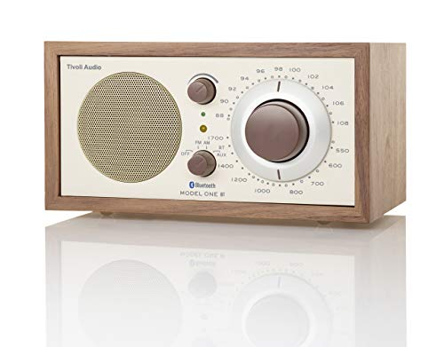 Tivoli Audio M1BTCLA Bluetooth AM/FM Radio (Walnut/Beige)
