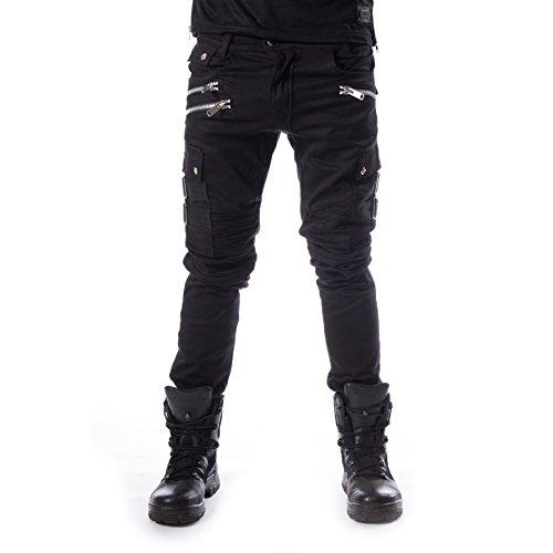 Chemical Black Anders Pants Männer Stoffhose schwarz W33L34