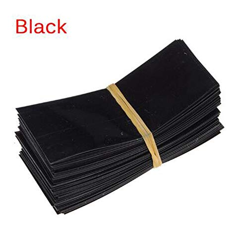 Black 18650 Battery Wrap,300Pcs 18650 Heat Shrink Tubing for 18650 Battery