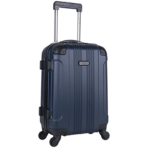 Kenneth Cole Reaction Out Of Bounds 20-Inch Carry-On Lightweight Durable Hardshell 4-Wheel Spinner...