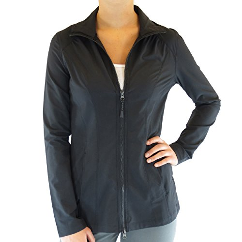 Alex + Abby Damen Pursuit Jacke - Schwarz - X-Small