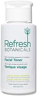 Refresh Botanicals Facial Toner   Cruelty Free, Natural, & Organic for Sensitive Eczema, Rosacea, Psoriasis, Stubborn Acne...