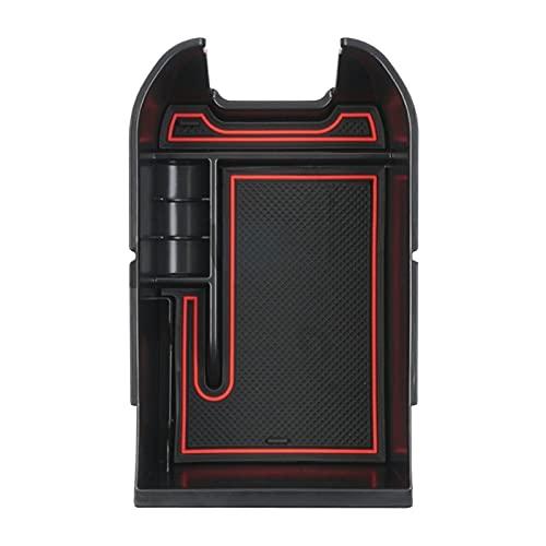 Donghaibaihuopu Caja de Almacenamiento de apoyabrazos Central modificada para automóvil para Toyota RAV4 2019-2020 (Color Name : Black Red)