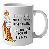 Find Funny Gift Ideas Tasse mit Hummerkönig George Hamilton – Kil Your Friends and Family to...