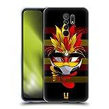 Head Case Designs Alemania Carnaval de Fútbol Carcasa de Gel de Silicona Compatible con Xiaomi Redmi 9