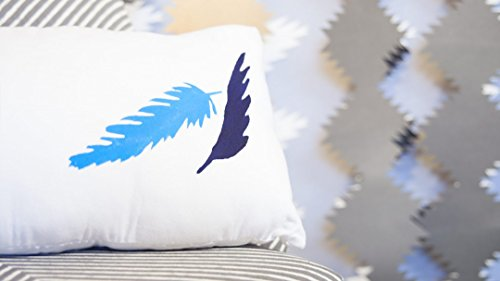 Cutting Machine Crafts: Feather Home Décor