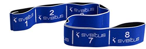 Sveltus Elastiband - Cinta elástica (20 kg), Color Azul