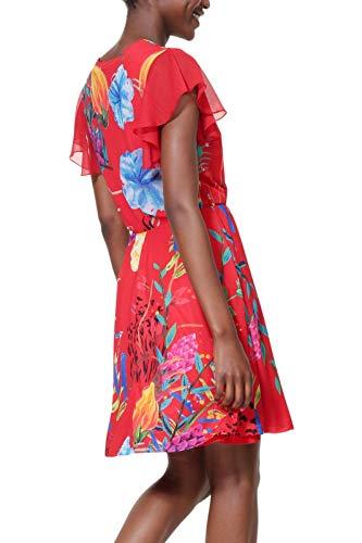 Desigual Vestito Donna Modello Miranda Rosso M