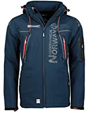 Geographical Norway Tambour Chaqueta Softshell para Hombre. Hombre