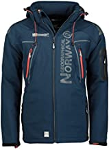 Geographical Norway Tambour Men's Softshell Jacket - Blue - Medium