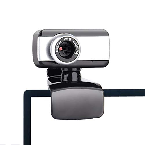 TKOOFN HD 480P Webcam mit Eingebautem Mikrofon, Notebook Laptop PC Desktop Computer Web Video Kamera USB Plug & Play für Skype, Online Konferenz, Videoanrufe, Live Streaming