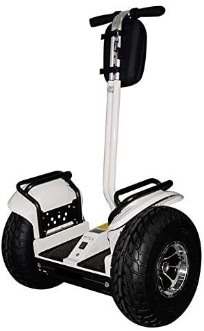 OUTSTORM 4000w/ 84v Offroad Electric Self Balance, City, Boardwalk Travel, Sightseeing, or Golf Course Use, Foldable Vehicle 34 Miles Range/13MPH Speed