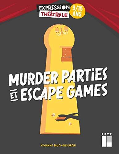 Le livre Murder Parties & Escape Games