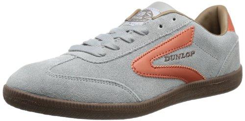 Dunlop Clay Court 51068058, Herren Sneaker, Grau (Grey/Bombey Brown), EU 42