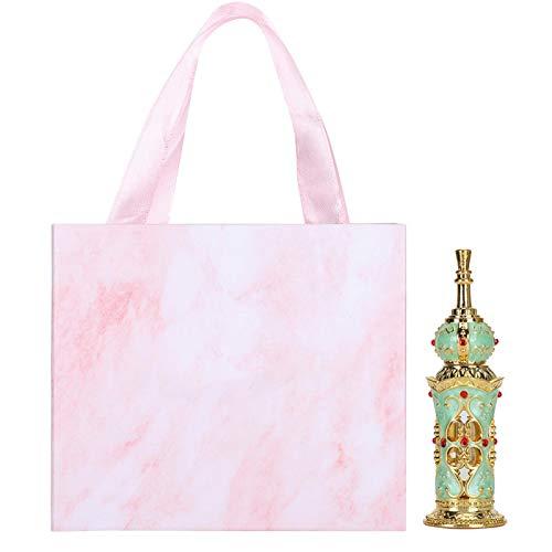WNSC Perfume Halal, Perfume De Regalo, Forma Exquisita Vintage Mano De Obra Fina Perfume Musulmán Suministros Religiosos Regalo Suministro Religioso para Decoración del Hogar