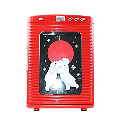 Coche Caliente Y Frío con Refrigerador para El Hogar, Refrigerador De Conservación De Calor Portátil, Regalos para Niñas, Puede Poner Frutas Y Verduras para Viajar Y Portátil