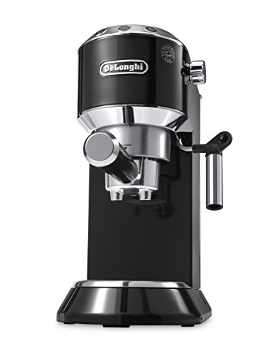 De'Longhi Dedica 5-Bar Pump Espresso Machine, Black