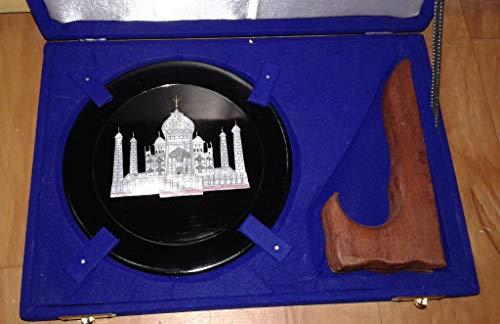 Decorative marble Plate, Taj Mahal Kamasutra plate, Home decor 6 Inch