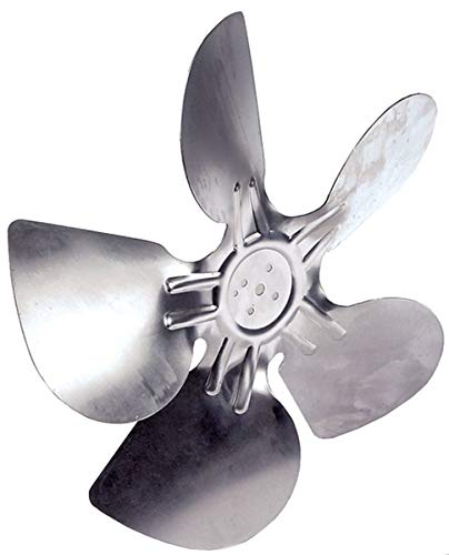 Lüfterrad saugend Ø300 mm Lüfterradbefestigung: 25,4 mm Flügelwinkel: 28 ° Aluminium Lüfterflügel für Electrolux, Scotsman, Icematic, Mastro, Brema