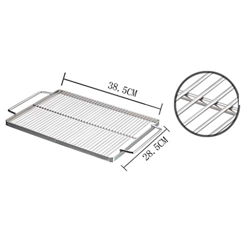 41D8KhdNMCL. SL500  - WZHZJ Metall Outdoor Grillzubehör, Folding Barbecue-Ofen Barbecue Licht Holzkohlegrilgrill Non Stick im Freien
