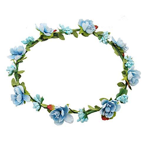 Casue Boho Stirnband Blume Krone Frauen Blumenfest Hochzeit Strand Haar Kranz Floral Garland Crown Boho Floral Stirnband