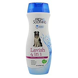 Naturel Promise Fresh and Soothing Lavish 4 in 1 Shampoo and Conditioner For All Breeds of Dogs, 650 ml