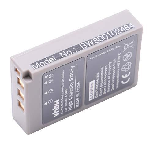 vhbw Akku kompatibel mit Olympus OM-D E-M10, E-M10 Mark IV Kamera Digicam DSLR (900mAh, 7,2V, Li-Ion)