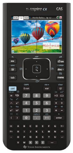 Texas Instruments TI-Nspire CX CAS Calculatrice graphique Noir