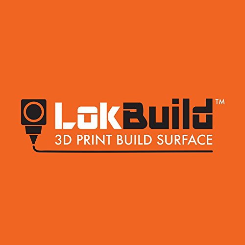 LokBuild 3D Print Build Surface, sticky back sheet, quick, clean removal of printed parts, versatile (TWIN PACK 6' (153x153mm))