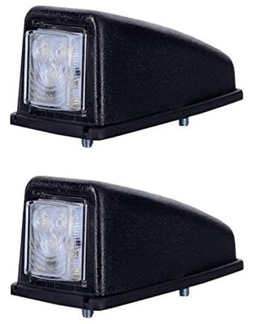 ROSEBEAR 10 Pacchi 6 Indicatore di Rimorchio a LED Auto Indicatore Laterale Luce di Ingombro del Bus Luci Posteriori 24V Luci Esterne per Camion Furgone Camper Camper