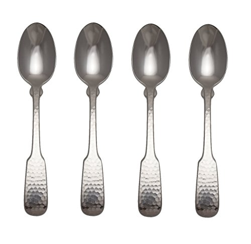 Towle Hammersmith 18/10 Stainless Steel 6 1/8' Teaspoon (Set of Four)