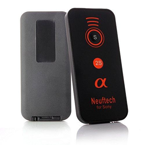 Neuftech Mini IR Control Remoto Disparador inalámbrico para Sony Alpha Cámaras A900...