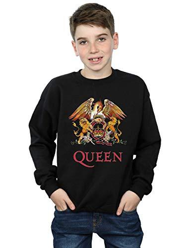 Absolute Cult Queen Niños Crest Logo Camisa De Entrenamiento Negro 12