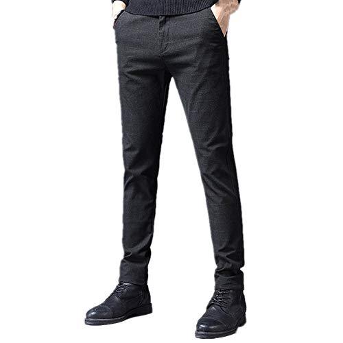 U/A Calidad De Algodón De Los Hombres Pantalones De Primavera Otoño Pantalones Masculinos