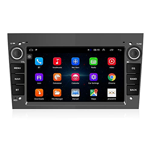 Android 8.1 Autoradio 2 Din Car Navigation Headunit Lettore multimediale stereo GPS Radio 1024P HD Touch Screen per Corsa Zafira Antara Astra Vectra Meriva Supporto Bluetooth FM Radio WiFi