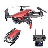 rzoizwko Drone, Drone Plegable GPS FPV con cámara HD Video en Vivo para Principiantes, RC Quadcopter con GPS Return Home, Sígueme, Control de Gestos, Circle Fly, Auto Hover y Transmisión WiFi