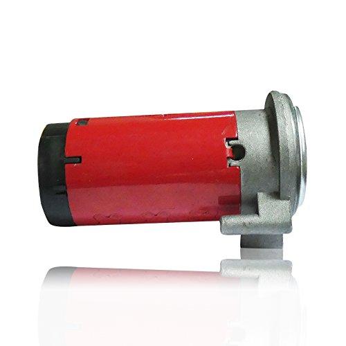 A1 12V Kompressor Druckluft Hupe Horn Rot PKW LKW Auto Ersatzteil Hupe Horn Signalhorn Druckluft E-Prüfzeichen