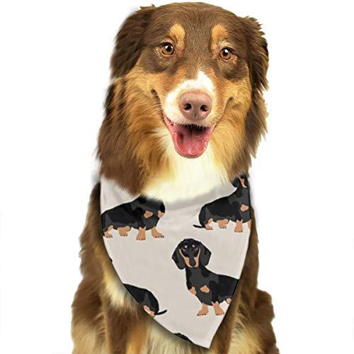 Aeykis Wiener Dog () Pet Bandana Kreativer Schal Pet Lätzchen für mittelgroße große Katze Hund