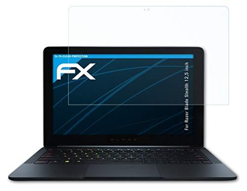 atFolix Schutzfolie kompatibel mit Razer Blade Stealth 12,5 inch Folie, ultraklare FX Bildschirmschutzfolie (2X)