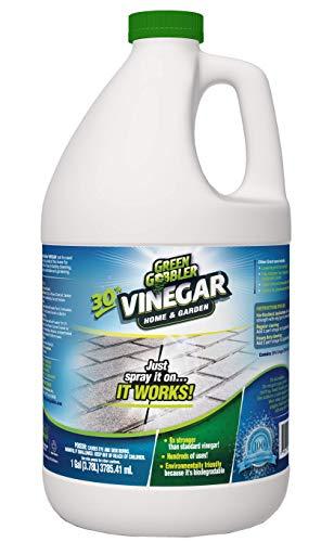 Green Gobbler Última casa de vinagre y jardín - 30% de vinagre concentrado cientos de usos! 1 galón 1 paquete