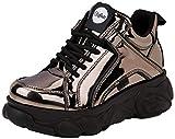 Buffalo Damen Corin Sneaker, Grau (Pewter 001), 37 EU