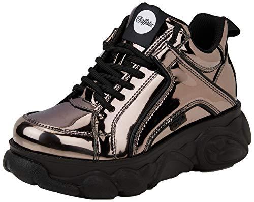 Buffalo Damen Corin Sneaker, Grau (Pewter 001), 39 EU