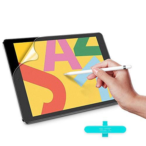 ESR Bildschirmschutzfolie für iPad Air 3 (2019)/iPad Pro 10.5 (2017), unterstützt Apple Pencil, Schreiben & Zeichnen wie auf Papier, blendfrei, matt, 2 Stück