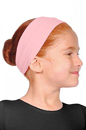 Roch Valley Cotton Headband, Fascia in Cotone. Bambino, Rosa Pallido, Taglia Unica