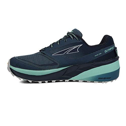 ALTRA Women's ALW1959F Olympus 3.5 Trail Running Shoe, Blue/Green - 6 M US